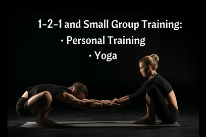 1-2-1 and Small Group Training Available